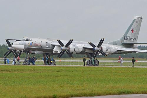 """Tupolev Tu-95MSM 'RF-94125 / 15 red' """"Kaluga"""""""