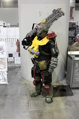 Halo Reach: SPARTAN Jorge Cosplay (Waltzing Specter) Tags: halo haloreach spartan armor mjolnir jorge cosplay animerevolution2017 animerevolution