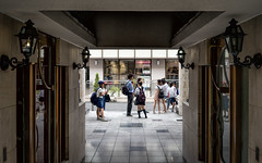 August 05, 2017.jpg (pavelkhurlapov) Tags: perspective geometry reflections shadows symmetry lamps kids architecture harajuku