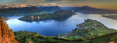 Rigi Panoramas (hapulcu) Tags: rigikaltbad lakeoffourcantons alpen alpes alpi alps luzern rigi schweiz suisse suiza svizzera swiss switzerland vierwaldstättersee alpine lake spring