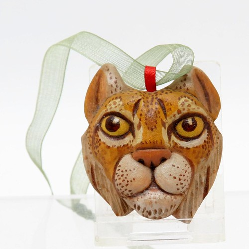 John Heatwole Carved Cat Ornament ($123.20)