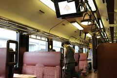 Conductor (yukky89_yamashita) Tags: おいこっと 十日町駅 新潟 十日町市 tokamachi japan niigata train jr東日本 passenger conductor seat