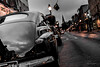 Classic American (FotographybyFrank) Tags: desaturation black reflection car morning nikon fotographybyfrank automobile annapolis street d500 tamron classic orange red overcast cloudy mainst