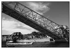 Pont Maréchal Foch - Sète (DavidB1977) Tags: france languedocroussillon hérault nikon d610 sète pointecourte nb bw monochrome