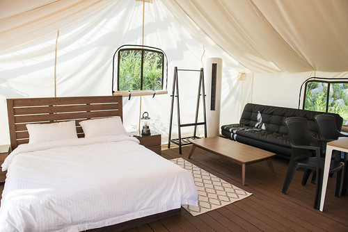 canvas glamping tent Korea3