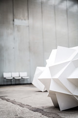 Drei Stühle (Frank Lindecke) Tags: nordart kunstwerk carlshütte wwwnordartde drei three