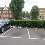 Litter in the public carpark # 1 thumbnail
