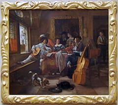 The Family Concert - Jan Steen (alplatt) Tags: artinstitute chicago artinstituteofchicago chicagoartinstitute art institute framed museum