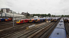 Railway (sunrisejetphotogallery) Tags: british rail clapham junction london england rolling stock track