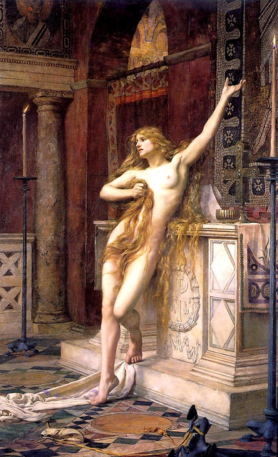 Charles William Mitchell (1854-1903) by 1qcur - Hypatia, 1885