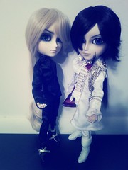 Which Do You Prefer: The Dark or The Light? (Dolli Luv) Tags: pullip taeyang