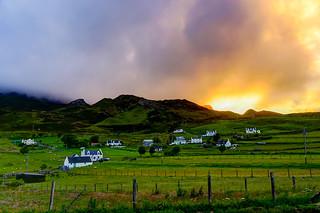 Beautiful summer evening in Scotland ;-)