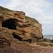 Blackhall Beach Caves