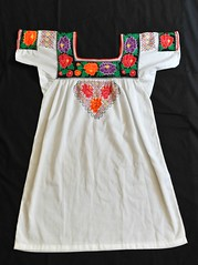 Embroidered Blouse Campeche Mexico (Teyacapan) Tags: blusa blouse mexico campeche textiles embroidered clothing yucatan ropa