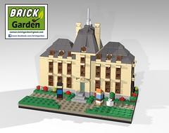 BGD 0026 R0 Tintin Moulinsart POV 01 (BRICK GARDEN) Tags: tintin bgd moulinsart lego brickgarden afol moc herge