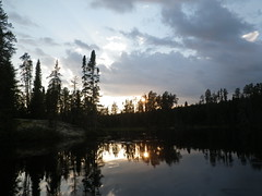 18-08-2017 Huronian - 18 (s.kosoris) Tags: skosoris pentaxoptiowg1 wg1 pentax huronian camp camping water lake sunset