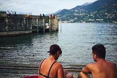 good times (Marc R. A.) Tags: lago como italy candid water sea street loxia sonya7 belaggio