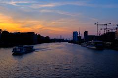 Spree Abendrot (DOKTOR WAUMIAU) Tags: fujixt20 fujifilm fujilove fuji fujix xt20 xf1855 berlin fhain friedrichshain oberbaumbrücke 500px