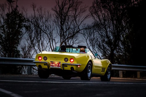Corvette At Arthurs Seat-5