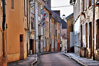 historical alley