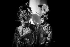 due (carnevale 2017) explored (conteluigi66) Tags: carnevale carnival venezia venice maschera maschere mask masks bn bw monocromo monochrome luigiconte