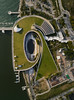 ~ The Barrage ~ (Tan Andy (Sorry if I did not reply)) Tags: singapore marinabay garden gardenbythebay barrage marinabarrage morning warm light architecture water godeyeview dji phantom4pro aerial aerialphotography