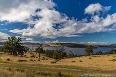 Looking across Barnes Bay (SarahO44) Tags: 6d australia barnes bay bruny canon clouds coast fields green island landscape lennon nature north ocean road sea sky tasmania view water northbruny au
