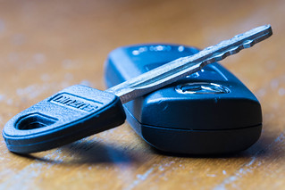 Evolution of the car key
