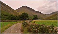 Great Gable. (A tramp in the hills) Tags: greatgable mountain cumbria lakedistrict wasdale fells