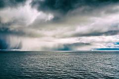 The Drama I (*Capture the Moment*) Tags: 2017 atlanticocean atlantik clouds diskobay diskobucht eisberg eisberge greenland growler grönland icehill iceberg ilulissat rain regen sonne sonye18200mmoss sonynex7 storm sturm sun unwetter wetter wolken floatingiceberg