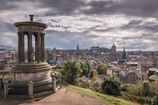 Edinburgh, Calton Hill View
