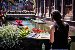 Paintress (Alessio Bisgen) Tags: ifttt 500px portrait city downtown geometry romantic kyoto france canal painter perspective ho chi minh hanoi suzhou colmar alsace latin quarter mongkok brooklyn ny taipei paintress water boat rangon phra nakhon cumberland md