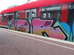 IOR (mkorsakov) Tags: dortmund hbf bahnhof mainstation graffiti piece bunt colored ior rb43
