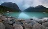Lake Louise, Banff National Park, canada (Matt Straite Photography) Tags: lake canada louise rockies trave hike mountain glacier storm clouds color canon landscape nature