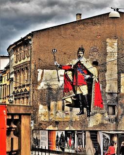 Selfie King in Olomouc.