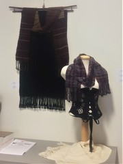 Fibre Flair exhibit - 4 (wovenflame) Tags: weaving woven wearable fibreart exhibit fibreflair