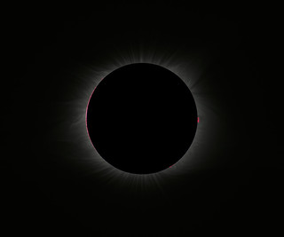 The Black Sun: Inner Corona during the 2017 North American Total Solar Eclipse