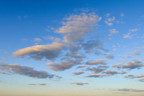 The sky over Kyiv