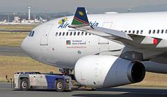 V5-ANO EDDF 19-06-2017 (Burmarrad (Mark) Camenzuli) Tags: airline air namibia aircraft airbus a330243 registration v5ano cn 1451 eddf 19062017