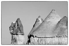 Cappadocia (JOAO DE BARROS) Tags: joão barros turkey cappadocia nature monochrome