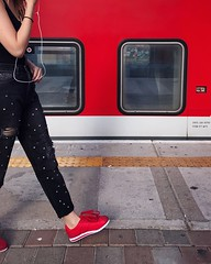 Red One Person Train - Vehicle Public Transportation Human Body Part Transportation One Woman Only Adult Lifestyles Adults Only Women Standing Low Section Real People People Day Only Women Outdoors ShotOnIphone IPhone7Plus Shotoniphone7plus מייאייפון7 Myd (dinalfs) Tags: red oneperson trainvehicle publictransportation humanbodypart transportation onewomanonly adult lifestyles adultsonly women standing lowsection realpeople people day onlywomen outdoors shotoniphone iphone7plus shotoniphone7plus מייאייפון7 mydtrainmoments mytrainmoments