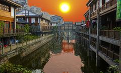 日照老街(Sunrise Over Old Town) (luo_wyne) Tags: