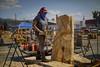 Chainsaw carving V (Rotifer) Tags: chainsawcarving chainsaw stihl libby libbymontana libbymt libbychainsawcarving kootenai kootenairiver koocanusa kootenaifalls