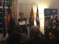 """Charlie Perkins and Roberta Sykes scholarship recipients, British High Commissioners Residence, Canberra, 17/08/2017 • <a style=""""font-size:0.8em;"""" href=""""http://www.flickr.com/photos/33569604@N03/37190126602/"""" target=""""_blank"""">View on Flickr</a>"""