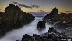 0S1A6166enthuse (Steve Daggar) Tags: bombo kiama seascape sunset landscape longexposure dramatic moody