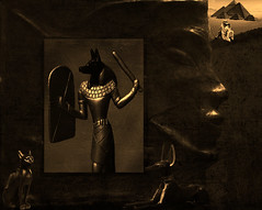 Anubis kingdom (bdira3) Tags: underground ancient god egypt moody textured