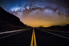 Crossroads - Milky Way and Highway (Valter Patrial) Tags: goiás brasil br crossroads milky way highway sky landscapes