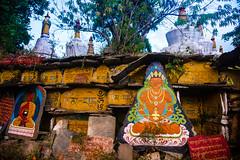 Sikkim, India (David Ducoin) Tags: asia bhuddha buddha buddhism buddhist color colors himalaya india orange religion sikkim temple gangtok in