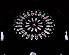 #Black at the Back (violetchicken977) Tags: blackattheback smileonsaturday yorkminster rosewindow stainedglass
