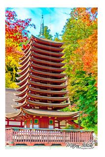 Sakurai-Tonomine Templo Japan